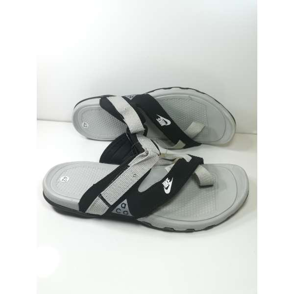 2deb7ccdc42a Buy Nike Grey Black Mens Slippers Sandals Price in Pakistan
