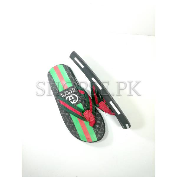 019b982bd Buy Green Red Gucci Mens Slippers Flip flop Price in Pakistan ...
