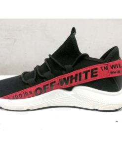 buy off white red stripe shoes in pakistan (2)