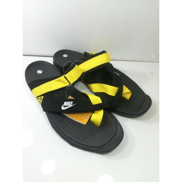 0b87324ca85d nike mens slippers black yellow sandals by shopse.pk in Pakistan (2)