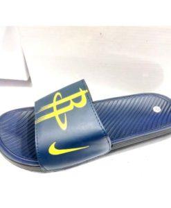 buy blue Yellow Nike Mens slippers flip flop by shopse.pk in Pakistan