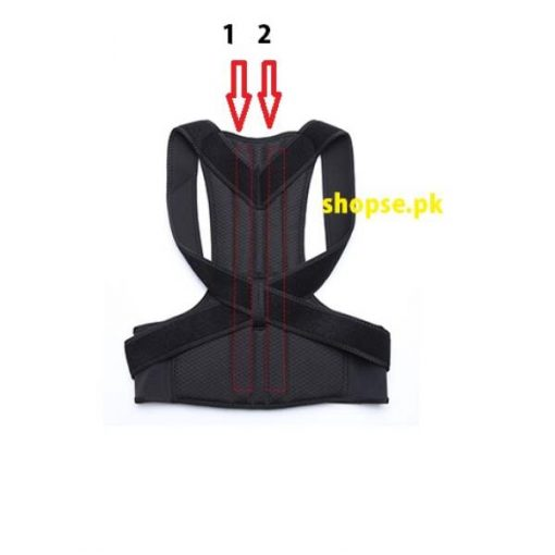 buy best quality back posture corrector back brace for straight posture back straight belt at best price by Shopse.pk in Pakistan (1)