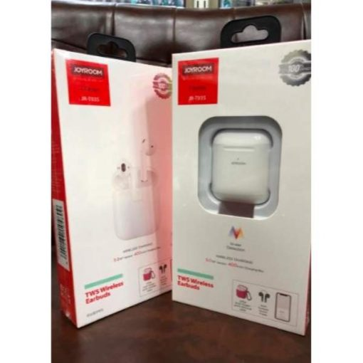 buy best quality joyroom jr t03s wireless bluetooth airpods earbuds bluetooth headphones white bluetooth airpods at low price by shopse.pk in Pakistan