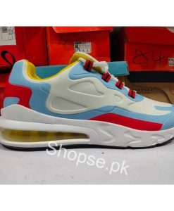 Buy Best Quality Imported Air Max 270 React Running Shoe Blue White (Vietnam Made) at low Price by Shopse.pk in Pakistan (3)