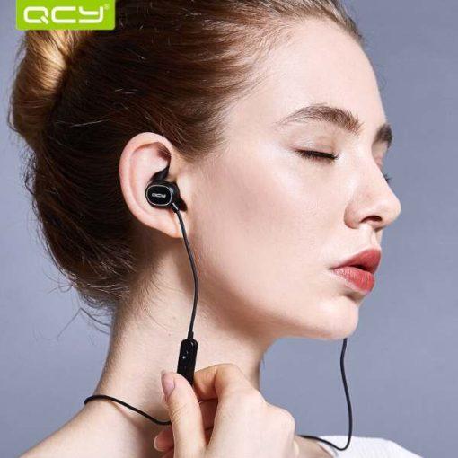 Buy Best Quality Qcy Qy19 Wireless Bluetooth Earphones wireless bluetooth handsfree by shopse.pk in Pakistan 1