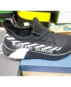 buy best quality Benz S600 Black White Casual Men Shoes KMIO12 at lowest price by shopse.pk in paksitan (2)