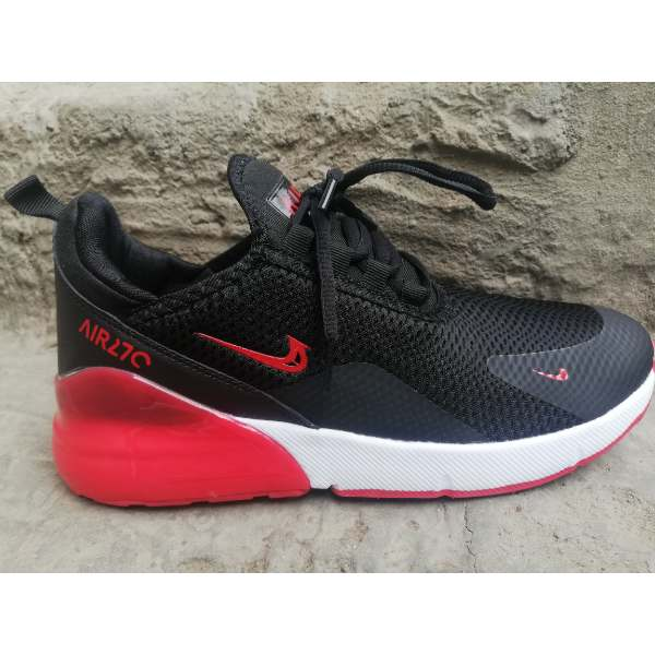 Nike Air Max 270 Black Red Shoes SHk48