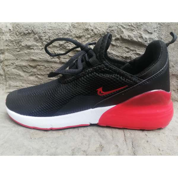 new product 37c83 f2e09 Nike Air Max 270 Black Red Shoes SHk48
