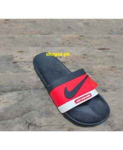 Buy Best Quality Imported Branded Red Mens Slippers km207 men Slide and Flip Flop by shopse.pk in Pakistan (2)