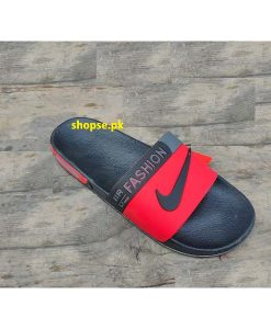 Buy Best Quality Imported Branded Red Mens Slippers km208 Slide and Flip Flop by shopse.pk in Pakistan 3