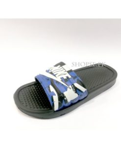 buy best Dark Blue Camouflage Nike Slippers flip flop and slide at lowest price in pakistan km210 (3)