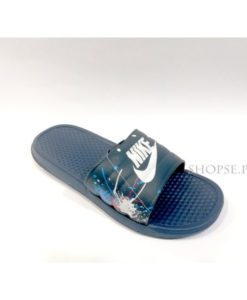 buy best Full Blue Camouflage Nike Slippers flip flop and slide at lowest price in pakistan km211 4