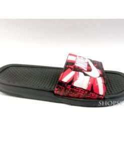 buy best quality Red Men Nike slippers slide flip flop at lowest price by shopse.pk in pakistan Km208 (5)