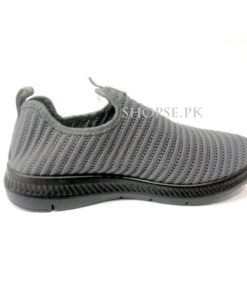 buy best quality grey slip on sneakers best grey men shoes at low price by shopse.pk in Pakistan shk208 (1)