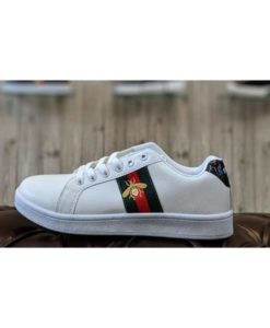 buy best quality light mens ace embroidered sneaker gucci ace watersnake gucci honey bee white shoes at low price by shopse.pk in pakistan (2)