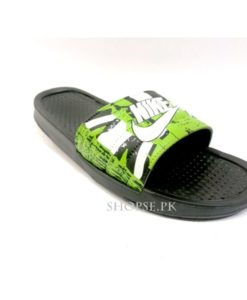 buy best quality nike Green mens slippers slide flip flop at lowest price by shopse.pk in pakistan Km203 (1)