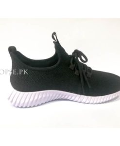 buy black white casual men fashion shoes at low price in pakistan shk204 (3)