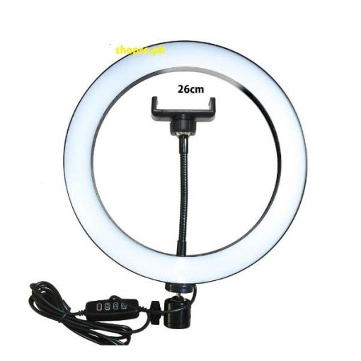 Buy 26CM Led Studio Camera Big Selfie Ring Light At Low Price by Shopse.pk In Pakistan tik tok light for photography and videography in pakistan