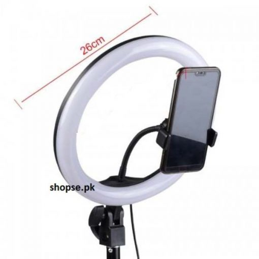 buy best quality tik tok LED Selfie big Ring Light 26cm Dimmable for Makeup Photo Video Live Studio Light and tik tok videography at lowest price by shopse.pk in Pakistana (4)