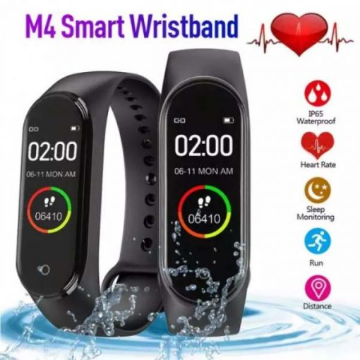 shopse.pk-m4-smart-band-4-waterproof-fitness-tracker-sport-bracelet-heart-rate-blood-pressure-smart-watch in pakistan buy now (1)