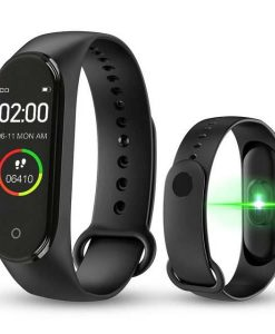 shopse.pk-m4-smart-band-4-waterproof-fitness-tracker-sport-bracelet-heart-rate-blood-pressure-smart-watch in pakistan buy now (1)