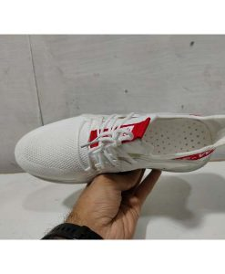 Buy Best Quality IMPORTED White Fashion Sneakers High Quality White Summer Woven Mesh Shoes Men Casual Shoes Sld02 Pakistan at Most Affordable Price by shopse.pk in Pakistan (1)