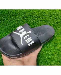 Buy Best Quality Imported Branded Black Casual Slippers and flip Flop CHSP52 Men Slide and Flip Flop by shopse.pk in Pakistan (1)