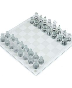 buy best glass chess set indoor game glass chess board at low price in pakistan 1