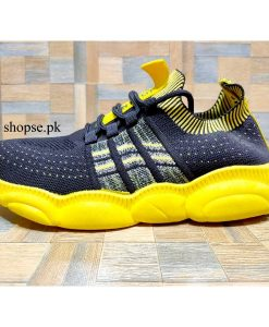 buy best imported yellow black running shoes for men at low price by shopse.pk in pakistan (1) IBS02