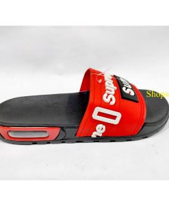 buy best quality red Supreme Slippers flip flop and chappal at low price by shopse.pk in pakista (1) chsp04