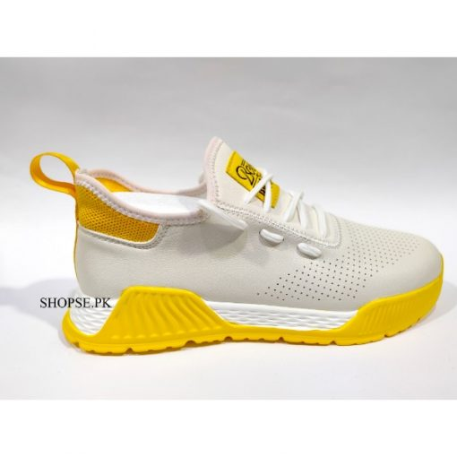 buy best quality white Yello Combo Casual Fashion Shoes by shopse.pk in Pakistan (ch503)