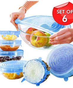 Buy Best Quality 6Pcs Kitchen Reusable Silicone Stretch Seal Lid Preservation Vacuum Food Storage Bowl Cover at Low Price by Shopse.pk in Pakistan 1 (4)