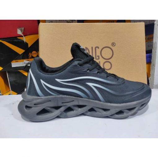 Buy Best Quality IMPORTED Blade sole Lightweight Men Sneakers Breathable Running Shoes for Men Black Trainers Sport Shoes Cushioning Gym Shoes Nb96 in Pakistan