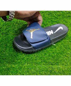 Buy Best Quality Imported Branded Top Quality Blue Fashion Slide Flip Flop CHSP08 Men Slipper by shopse.pk in Pakistan (1)