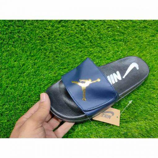 Buy Best Quality Imported Branded Top Quality Blue Fashion Slide Flip Flop CHSP08 Men Slipper by shopse.pk in Pakistan (2)