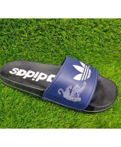 Buy Best Quality Imported Branded Top Quality Blue Fashion Slide Flip Flop CHSP11 Men Slipper by shopse.pk in Pakistan (1)