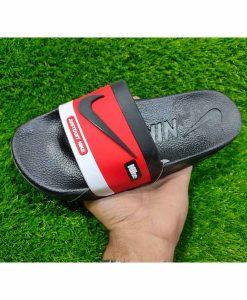 Buy Best Quality Imported Branded Top Quality Fashion Black Red Slide Flip Flop CHSP21 Men Slipper by shopse.pk in Pakistan (2)
