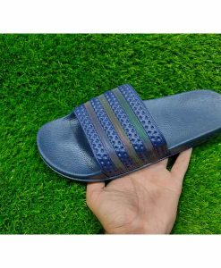 Buy Best Quality Imported Branded Top Quality Fashion Blue Slide Flip Flop CHSP25 Men Slipper by shopse.pk in Pakistan (1)