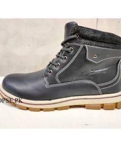 Buy Best Quality Winter Long Black Boots Waterproof for Men Best Hiking Long Shoes for Men in pakistan NB96 (3)