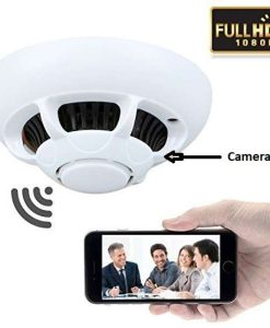 Buy Best WIRELESS WIFI P2P SPY Hidden SMOKE DETECTOR CAMERA at low Price in Pakistan by Shopse (1)