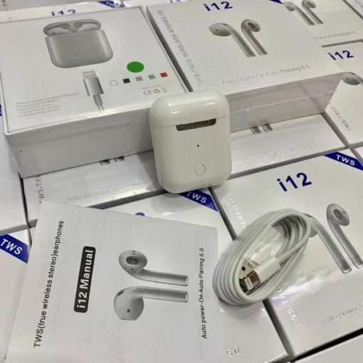 buy best quality i12 tws sensor touch wireless bluetooth airpods at low price by shopse.pk in pakistan 3 (2)