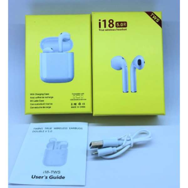 Buy I18 Twin Popup Window Wireless Earphone Pakistan Shopse Pk