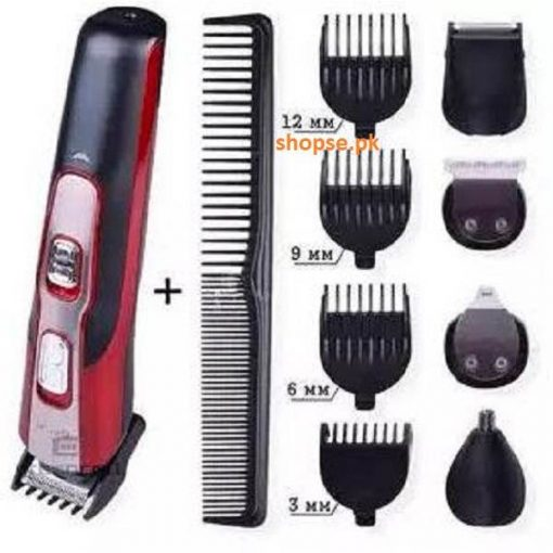 Buy Best Gemei GM-592 - Professional Grooming Kit hair trimmer for Men at best price by shopse.pk in Pakistan (1)