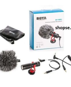 Buy Boya BY-MM1 Universal Cardioid Microphone in Pakistan by shopse (1)