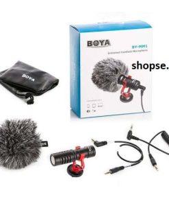 Buy Boya BY-MM1 Universal Cardioid Microphone in Pakistan by shopse (1)