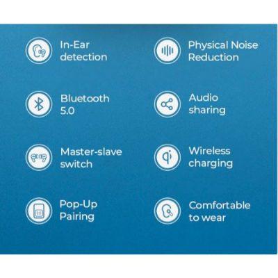 Joyroom jr T03 Pro TWS Wireless Earphones Bluetooth 5.0 Noise-Reduction Support headset Pop-ups Wireless Charging In-ear Earbuds at best price by Shopse.pk in pakistan 1