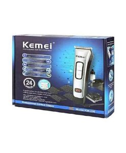 buy best kemei Km - 236 Professional Electric Hair Clipper Cordless&Rechargeable 220-240v Hair Cutting Machine Hair Trimmer With 4 Comb at best price in pakistan by shopse