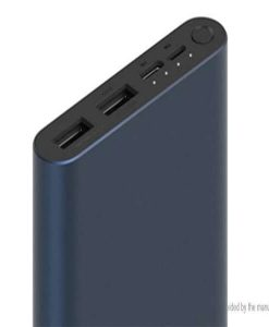 Mi Power Bank 3 10000mah With 2input And 2output Quick Charge 3.0 Fast Charge (Black) in pakistan by shopse (2)