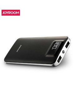 Original Joyroom JR-D121 Portable 10000mAh Power Bank With Digital Display Flashlight 5V 2.1A Mobile Charger by shopse.pk at best price in Pakistan