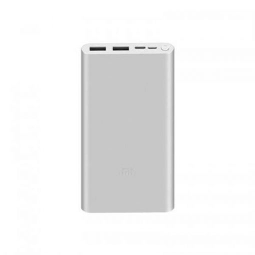 buy Mi Power Bank 3 10000mah With 2input And 2output Quick Charge 3.0 Fast Charge white in pakistan by shopse.pk at low price (1)